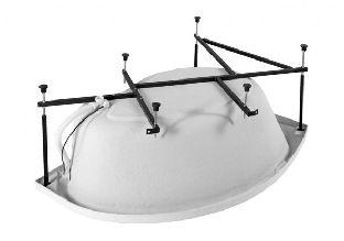 Каркас сварной для акриловой ванны Aquanet Jamaica 160x110 L/R