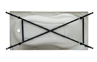 Каркас сварной для акриловой ванны Aquanet Cariba 170x75