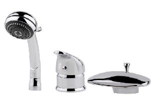 Смеситель для акриловой ванны Aquanet NERA GRAND NIAGARA 20905.02