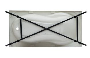 Каркас сварной для акриловой ванны Aquanet Grenada 180x80