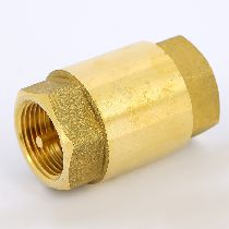Клапан обратный 1' пружинный латунный NEBRASKA метал. затвор BUGATTI 01920003
