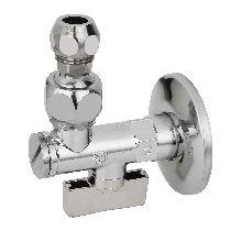 Кран 10х1/2' шаровой с фильтром MINNESOTA с шарнирным соединен. для смесителя с трубками, серия 875 BUGATTI 08750001