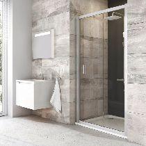 Душевая дверь Ravak Blix BLDP3 LR 90 см прозрачное хром