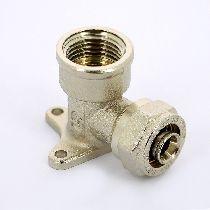 Водорозетка обж-В 16x1/2' никелир. UNI-FITT 10326N001604