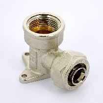 Водорозетка обж-В 20х1/2' никелир. UNI-FITT 10326N002004