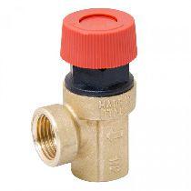Предохранительный клапан ВР 1/2 латунный 6 bar UNI-FITT 240G6022