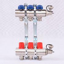 Колл.группа 1'х3/4' 3 вых с регулировочными и термостатическими вентилями UNI-FITT 32315N060503