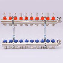 Колл.группа 1'х3/4' 10 вых с расходомерами и термостатическими вентилями UNI-FITT 32415N060510