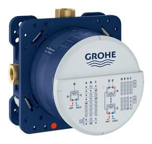 GROHE Rapido Скрытая часть термостат для ванны / душа