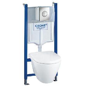 Комплект Grohe Solido 39127000 подвесной унитаз + инсталляция + кнопка