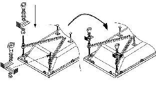 Крепление боковой панели Kolpasan