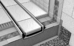 Решетка-основа для плитки TECE PLATE 6 012 70 (601270)