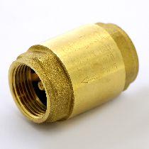"""Клапан обратный 3/4"""" пружинный (металлический затвор) UNI-FITT 51101G120510"""