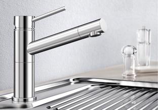 Смеситель для кухни Blanco ALTA Compact хром 515120
