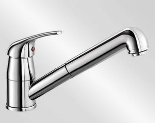 Смеситель для кухни Blanco DARAS-S хром 524190