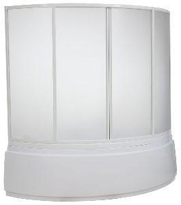 Шторка для ванны Bas Лагуна 1700 (пластик)