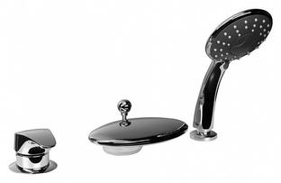 Смеситель для ванны Bravat Niagara 7F5140197CP-RUS