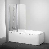 Шторка для ванны Ravak 10CVS2-100 L белый прозрачное