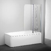 Шторка для ванны Ravak 10CVS2-100 R белый прозрачное