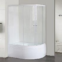 Душевой уголок Royal Bath 8120BK-T