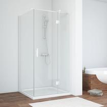 Душевой уголок Vegas Glass AFP-Fis 0120 01 01 R профиль белый, стекло прозрачное