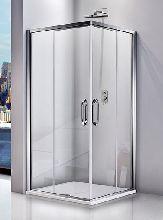 Душевой уголок Good Door ANTARES CR-90-C-CH 90x90x195  стекло прозрачное