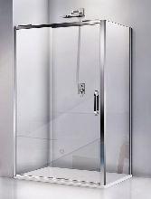 Душевой уголок Good Door ANTARES WTW-110-C-CH + SP-80-C-CH 110x80x195  стекло прозрачное