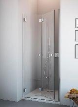 Душевая дверь Radaway Carena DWB/L стекло коричневое (70x195 см)