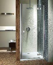Душевая дверь Radaway Almatea DWJ 100/L стекло графит (100x195 см)