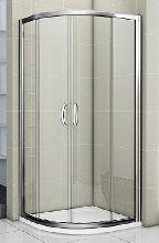 Душевой уголок Good Door INFINITY R-80-C-CH 80x80x185  стекло прозрачное