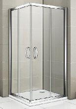 Душевой уголок Good Door INFINITY CR -80-C-CH 80x80x185  стекло прозрачное