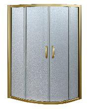 Душевой уголок Good Door JAZZE R-120-C-BR 120x120x185  стекло прозрачное