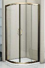 Душевой уголок Good Door JAZZE R-80-C-BR 80x80x185  стекло прозрачное
