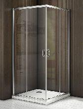 Душевой уголок Good Door LATTE CR-80-C-WE 80x80x185  стекло прозрачное