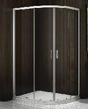 Душевой уголок Good Door LATTE R-120-C-WE 120x80x185  стекло прозрачное