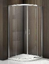 Душевой уголок Good Door LATTE R-80-C-WE 80x80x185  стекло прозрачное