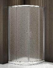 Душевой уголок Good Door LATTE R -80-G-WE 80x80x185  стекло матовое