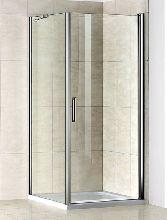 Душевой уголок Good Door PANDORA CR-80-C-CH 80x80x185  стекло прозрачное
