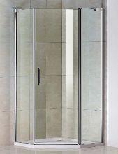 Душевой уголок Good Door PANDORA PNT-90-C-CH 90x90x185  стекло прозрачное