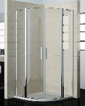 Душевой уголок Good Door PANDORA R80-C-CH 80x80x185  стекло прозрачное