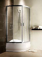 Душевой уголок Radaway Premium Plus A 1700 80x80 стекло прозрачное