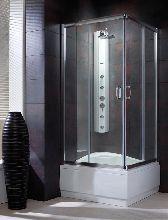 Душевой уголок Radaway Premium Plus C 1700 90x90 стекло коричневое