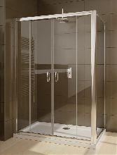 Душевой уголок Radaway Premium Plus DWD+S 140x75 стекло прозрачное