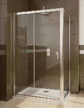 Душевой уголок Radaway Premium Plus DWJ+S 130x90 стекло прозрачное