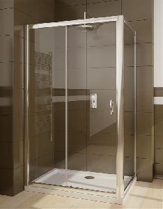 Душевой уголок Radaway Premium Plus DWJ+S 100x80 стекло прозрачное