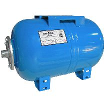 Расширительный бак 100л WAO100 для водоснабжения горизонтальный Uni-Fitt UNI-FITT WAO100-U