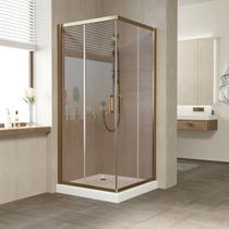 Душевой уголок Vegas Glass ZA 0100 05 05 профиль бронза, стекло бронза