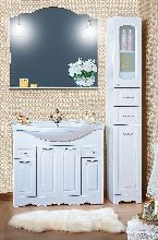 Комплект мебели Бриклаер Анна 100 Белый