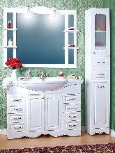 Комплект мебели Бриклаер Анна 120 Белый