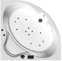 Гидромассажная ванна Aquanet Santiago 160 x 160